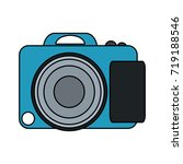 photographic camera icon image  | Shutterstock .eps vector #719188546