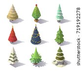 Isometric Christmas Trees...