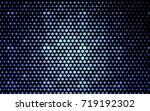 light blue vector abstract... | Shutterstock .eps vector #719192302