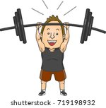 illustration featuring a... | Shutterstock .eps vector #719198932