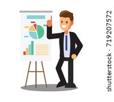 businessman character design... | Shutterstock .eps vector #719207572