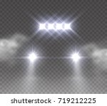 lights led off road effect... | Shutterstock .eps vector #719212225
