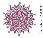 vector hand drawn doodle... | Shutterstock .eps vector #719240038