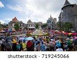 da nang  vietnam   august 7 ...   Shutterstock . vector #719245066