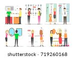 plumber store set on white... | Shutterstock . vector #719260168