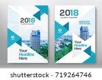 city background business book... | Shutterstock .eps vector #719264746