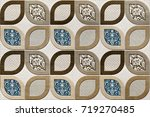 abstract home decorative art... | Shutterstock . vector #719270485