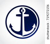 color opposite shape anchor... | Shutterstock .eps vector #719272156