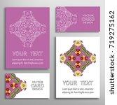 mandala sign symbol  colorful...   Shutterstock .eps vector #719275162