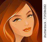beauty | Shutterstock .eps vector #719286382