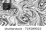 seamless abstract marble... | Shutterstock .eps vector #719289022