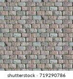 Stone Pavement Texture. Granit...