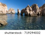 natural rocks near lagos ... | Shutterstock . vector #719294032