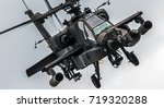 military attack helicopter... | Shutterstock . vector #719320288