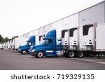 A Day Cab Big Rigs Semi Trucks...