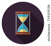 hourglass icon. illustration in ...   Shutterstock .eps vector #719329258