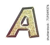 sparkling vintage printed... | Shutterstock . vector #719349376