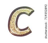 sparkling vintage printed... | Shutterstock . vector #719352892
