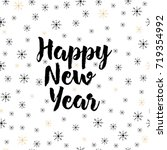 happy new year background with... | Shutterstock .eps vector #719354992
