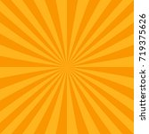 orange abstract sun burst... | Shutterstock .eps vector #719375626