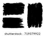 vector grunge banners.grunge... | Shutterstock .eps vector #719379922