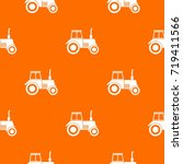 Tractor Pattern Repeat Seamles...