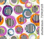 seamless background pattern ...   Shutterstock .eps vector #719419135