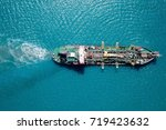 Suction Dredger Vessel At Sea ...