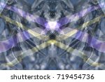 an abstract background formed... | Shutterstock . vector #719454736