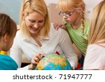 family affairs   mother... | Shutterstock . vector #71947777