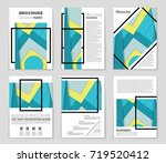 abstract vector layout... | Shutterstock .eps vector #719520412