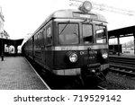 train on train station
