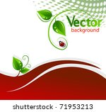 abstract nature background   Shutterstock .eps vector #71953213