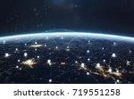 data exchange and global...   Shutterstock . vector #719551258