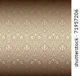seamless art nouveau pattern | Shutterstock .eps vector #71957206
