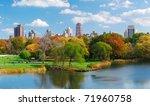 new york city central park... | Shutterstock . vector #71960758