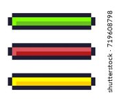 loading progress bar pixel art...