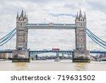 View Of Tower Bridge In London...