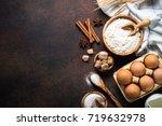 Baking Background. Ingredients...