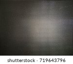 texture of the ribbed glass | Shutterstock . vector #719643796