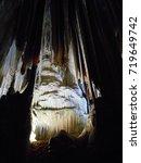 Small photo of Light in the midst of darkness, Devil's Cave, Eldorado, SP, Brazil