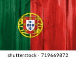 flag of portugal | Shutterstock . vector #719669872