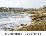 couregant beach   seaside... | Shutterstock . vector #719676496