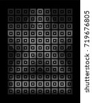 square pattern combined into...   Shutterstock .eps vector #719676805