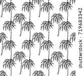 seamless vector pattern eco... | Shutterstock .eps vector #719683342