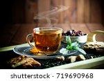 tea cup | Shutterstock . vector #719690968