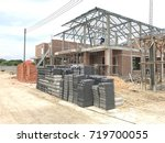 building site with new homes...