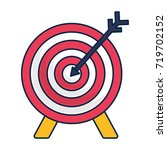 bow and arrow icon | Shutterstock .eps vector #719702152