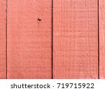 close up detail of a rustic red ... | Shutterstock . vector #719715922