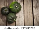 harvest background with green... | Shutterstock . vector #719736232